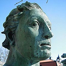 Johansson, Ivar, Den vrede Apollo. Skulptur, 1927