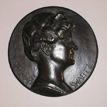 Dagmar Swartz. Kopparrelief, 1916