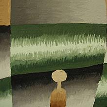 Key-Åberg, Gudrun, akryl på duk, 1978
