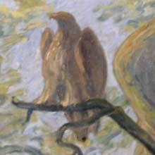 Acke, Johan Axel Gustaf, Plafondmålning omkr 1900. (Marmorhallen)