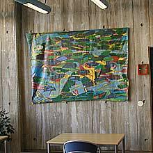 Björn Wessman, Akryl på duk, 1983